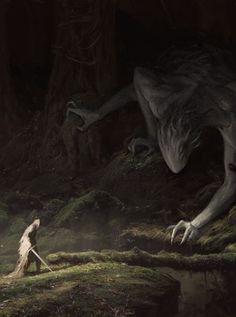 Os Sem Face. Seres que vivem na camada mais profunda da escuridão. Demônios que…