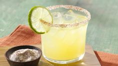 Citrus Margarita with Smoky Chile Salt