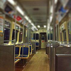 Cta train, #chicago