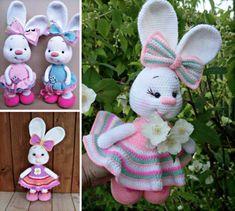 Bunny Crochet Free Pattern Video