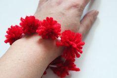 Pom Pom bracelet for kids
