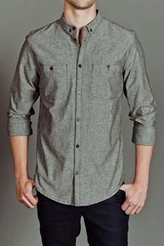JackThreads - Reeves Chambray