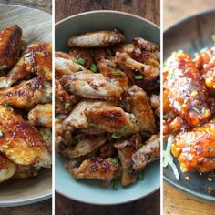 Trust me, these are the only dips for chicken wing you'll ever need. They're sticky, sweet, spicy, and incredibly irresistible! Oven Cooked Ribs, Ribs On Grill, Chicken Wing Sauces, Air Fryer Chicken Wings, Pork Belly Slices, Crispy Roast Potatoes, Guacamole Recipe Easy, Food Processor Recipes, Meat Recipes
