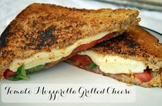 Lovely Life Styling: Tomato Mozzarella Grilled Cheese