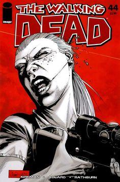 Capa da Edição #44 de The Walking Dead