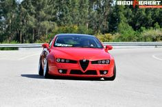 Static wide Alfa Romeo Brera by Bari - StanceWorks