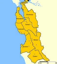 Map of the Ohlone People villages; follow the link to the Wikipedia entry.