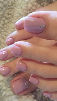 Pin on Nageldesign - Nail Art - Nagellack - Nail Polish - Nailart - Nails Pin on Nageldesign - Nail Art - Nagellack - Nail Polish - Nailart - Nails Pretty Toe Nails, Cute Toe Nails, Pretty Toes, Pedicure Designs, Manicure E Pedicure, Toe Nail Designs, Nails Design, Pedicure Ideas, Pink Pedicure