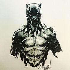 Black Panther by Tommy Nguyen