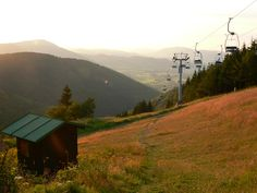 The oldest chairlift in the Czech lands