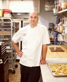 MEET OUR TEAM I Introducing our Pastry Chef, Jove Hubbard. Make sure to try his new Cast Iron Apple Pie on our brunch menu this October!