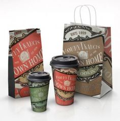 Eco-friendly & Recyclable Packaging Inspiration - Jayce-o-Yesta Graphic Design Inspiration Food Packaging Design, Coffee Packaging, Pretty Packaging, Brand Packaging, Packaging Boxes, Custom Packaging, Graphic Design Branding, Label Design, Menu Design