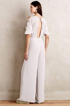 Acacia Embroidered Jumpsuit - anthropologie.com #anthrofave