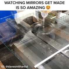 Watching Mirrors Get Made // #mirrors #nifty