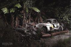 Fotograf findet Mercedes 300SL unter Bananenbaum auf Kuba | Classic Driver Magazine