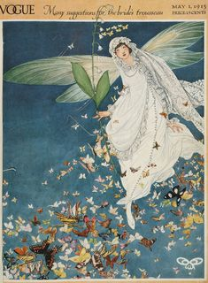 May 1913 Vogue Magazine Cover