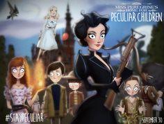 Miss Peregrine de Tim Burton en version film d'animation