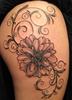 pics photos dahlia flower tattoos flower tattoos tattoos rh za pinterest com purple dahlia flower tattoo dahlia flower tattoo meaning