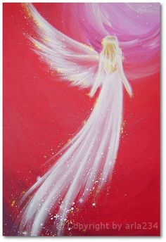 Limited angel art photo to the love modern angel by HenriettesART