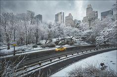 New York by Renaud JULIAN, via Behance