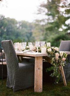 Elegant Green, White, and Mauve Wedding Ideas - by Eric Kelley