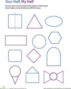 Drawing Lines Of Symmetry Education Ideas Pinterest Symmetry