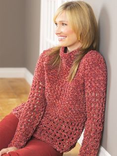 Pullover | Yarn | Free Knitting Patterns | Crochet Patterns | Yarnspirations