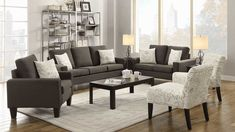 Southern Living Rooms, Cozy Living Rooms, Living Room Grey, Home Living Room, Living Room Furniture, Living Room Designs, Living Room Decor, Apartment Furniture, Sala Vintage