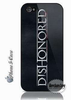 Fantastic iPhone 5 Case Dishonored Video Game Logo #iphonecase #iphone5 #case Video Game Logos, Game Title, Nerd, Iphone Cases, Logo Design, Games, Accessories, Otaku, Iphone Case
