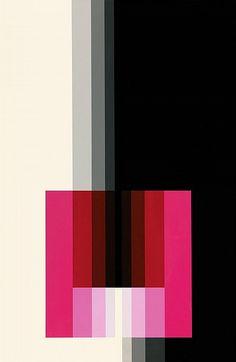 Chromorphose 3.10 by Karl Gerstner, 1974. ©Karl Gerstner