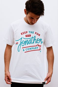 "Image of JONATHON THE DOG ""COMPANY"" TEE"