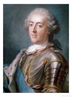Portrait of Louis XV King of France (Gustav Lundberg)