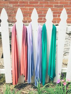 DIY Jersey Scarves by Henry Happened - no sewing required!