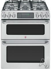 GE Cafe Series $2939 Gas Range, double convection oven
