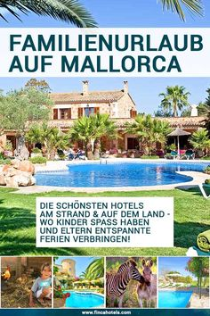 TOP 15 family hotels in Mallorca - sandramarion Beautiful Family, Most Beautiful Pictures, Hotel Am Strand, Familienfreundliche Hotels, Hotel Familiar, Mobile Home Decorating, Pergola, Outdoor Structures, Holiday Decor