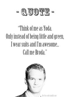 broda, how i met your mother, himym, barney stinson
