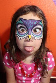 owl design - TaylorAnnArtParty
