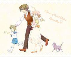 """""""A Happy Family"""" (I wish! T_T)"""