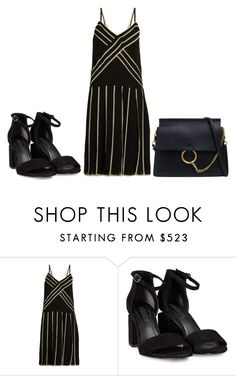 """""""Sem título #7938"""" by ana-sheeran-styles ❤ liked on Polyvore featuring RED Valentino, Alexander Wang and Chloé"""