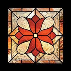 Victorian stained glass patterns: Victorian Tulips ...