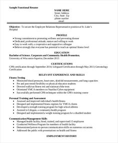 Personal Trainer Resume Sample Awesome 8 Physician Resume Templates  Free Printable Word & Pdf  Ms Word .