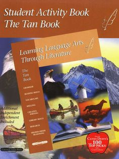 Learning Language Arts Through Literature Tan Student Book. 6th grade skills. The Teacher's Manual and the four required extra reading books need to be purchased as well. I have thoroughly enjoyed this curriculum. I like how it is broken down... Day 1 a, b, c, etc. It makes it so easy for me to teach and grade.