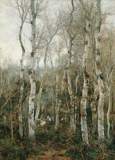 Emilio Sánchez-Perrier,Winter in Andalusia,1880