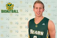 University of Alberta -  Jordan Baker named CIS Top 8 AAC - Baker becomes Alberta's 12th Top 8 AAC, and first from Bears basketball