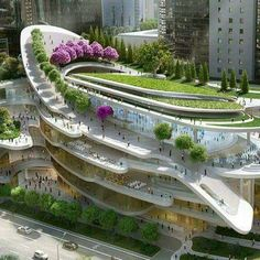 10 futuristic architecture projects that will blow your mind – Placee – Architecture & Design Architecture Design, Futuristic Architecture, Sustainable Architecture, Beautiful Architecture, Landscape Architecture, Futuristic Houses, Architecture Facts, Enterprise Architecture, Minimalist Architecture