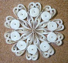 Décorations de Nöel Paperolles-Quilling Version Française