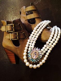Not sure if I love the booties more or the bling!  www.shopspoiledgirl.com