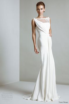 #tony ward bridal 2014 #wedding gown #trumpet