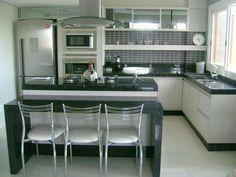 Kitchen Dinning Room, Kitchen Sets, Home Decor Kitchen, Country Kitchen, Kitchen Interior, Home Kitchens, Kitchen Design, Home Room Design, Interior Design Living Room