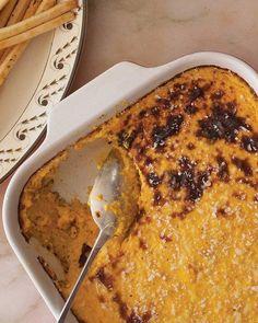 Butternut Squash Pudding Recipe for Thanksgiving potluck